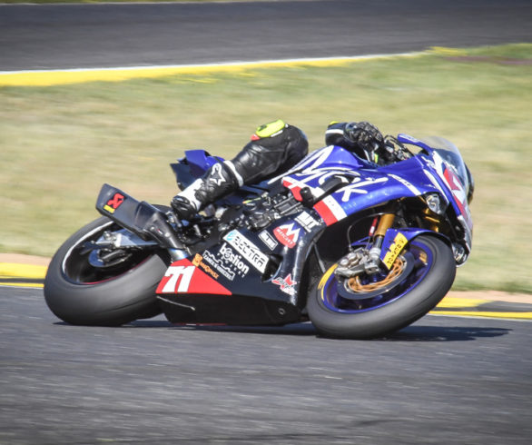 cc2a32bf0f31b Cristopher Bergman won race2 FIME Superstock1000 class at Pannoniaring