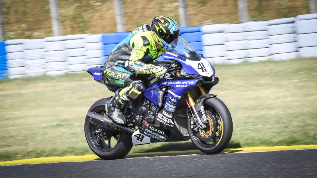 7e15add0e0bc3 Philip Steinmayr won race2 SBK class at Pannoniaring